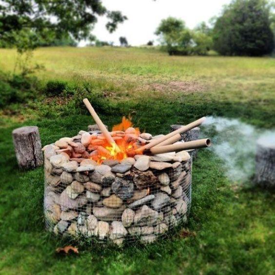 backyard firepit ideas 15