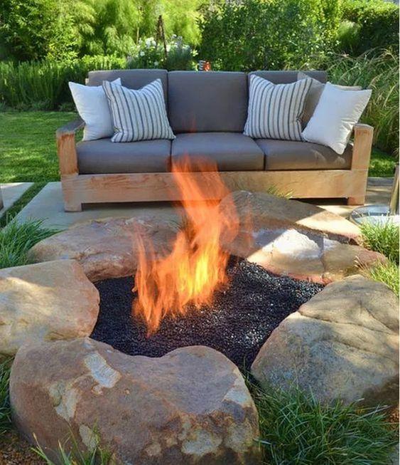 backyard firepit ideas 17