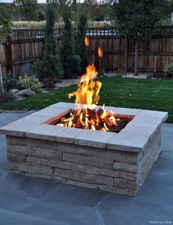 backyard firepit ideas 19