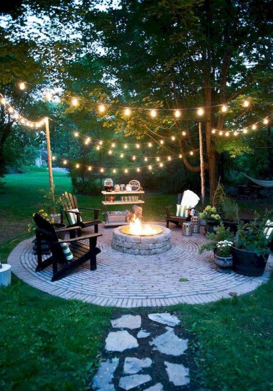 backyard firepit ideas 25