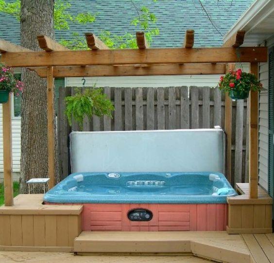 backyard hot tub 16
