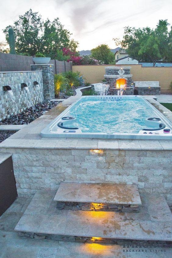 backyard hot tub 22