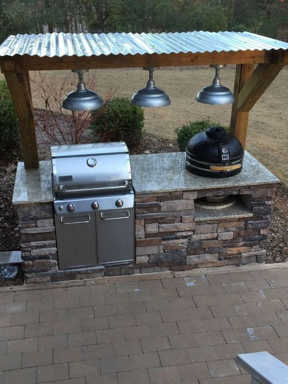 Backyard Kitchen Ideas: Elegant Natural Design