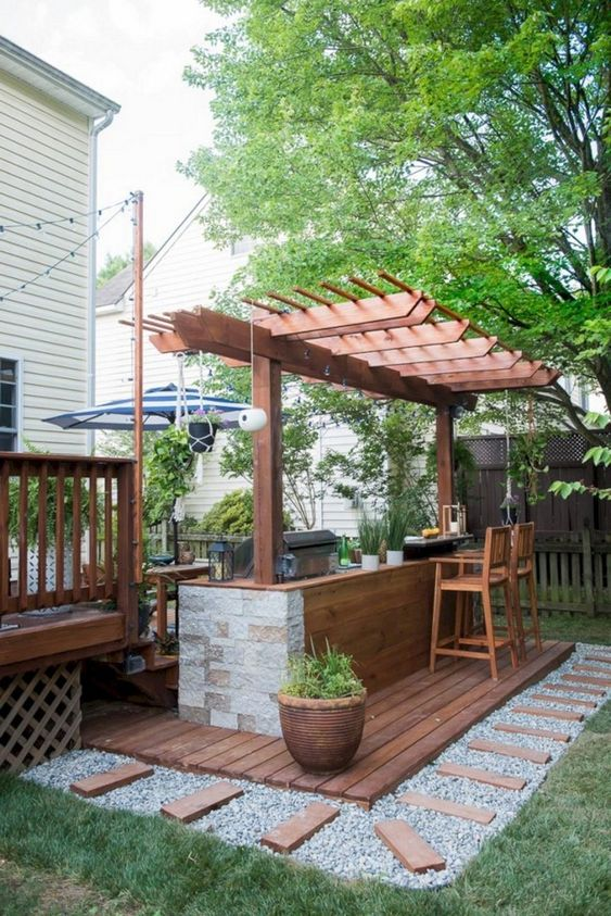 backyard kitchen ideas 20
