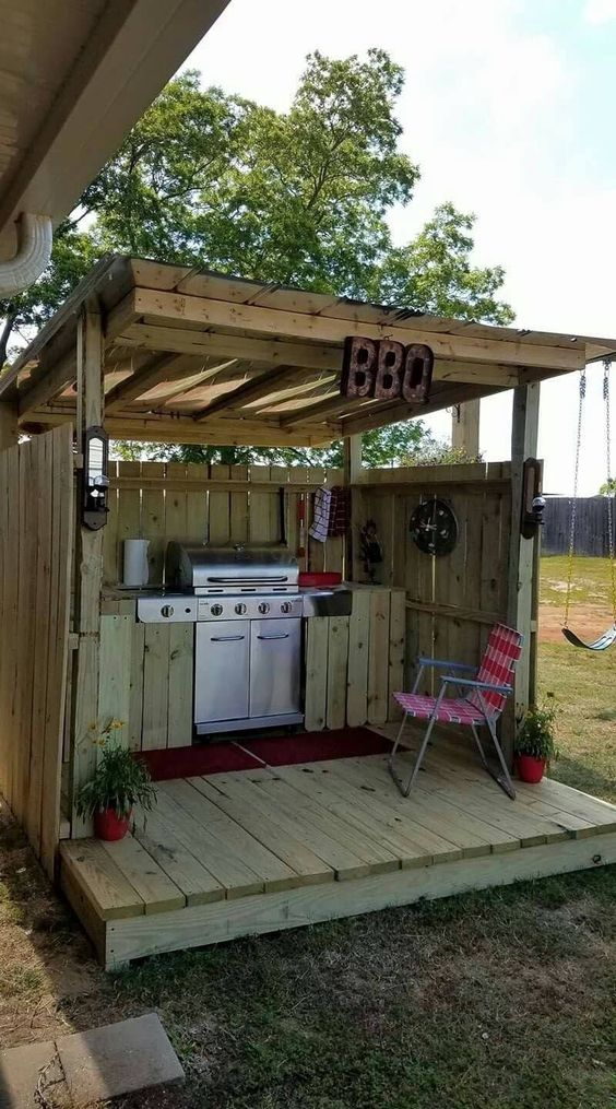 backyard kitchen ideas 25