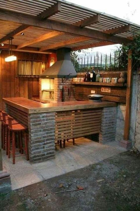 backyard kitchen ideas 5