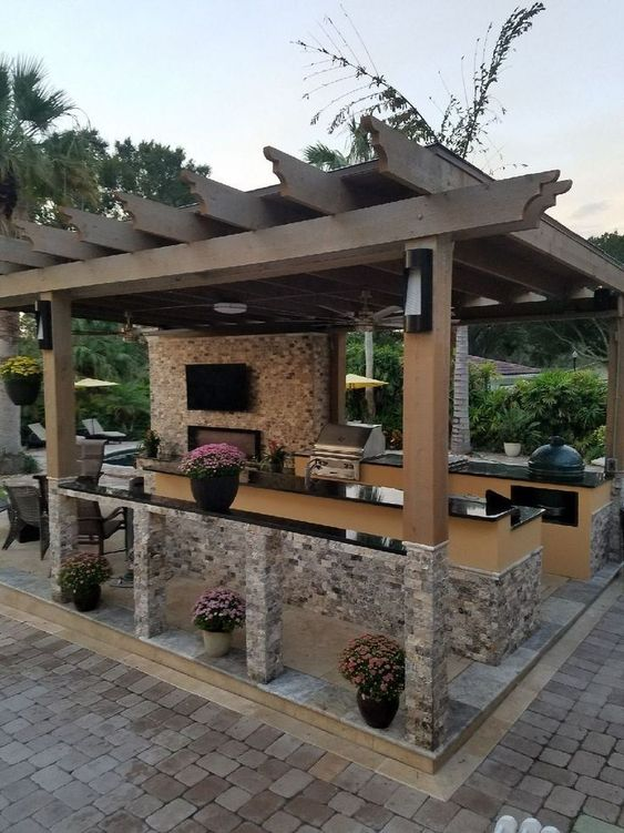 backyard kitchen ideas 6