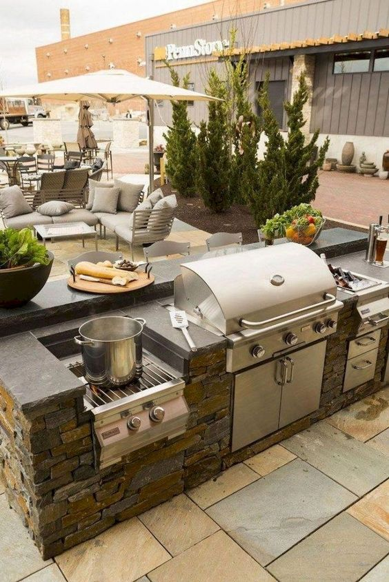backyard kitchen ideas 9