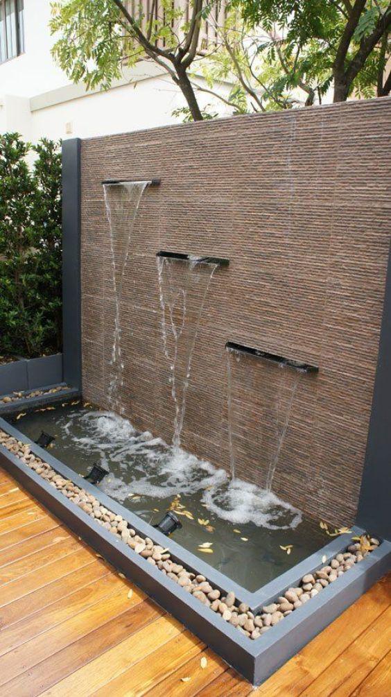 backyard waterfall ideas 16