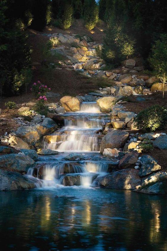 backyard waterfall ideas 19