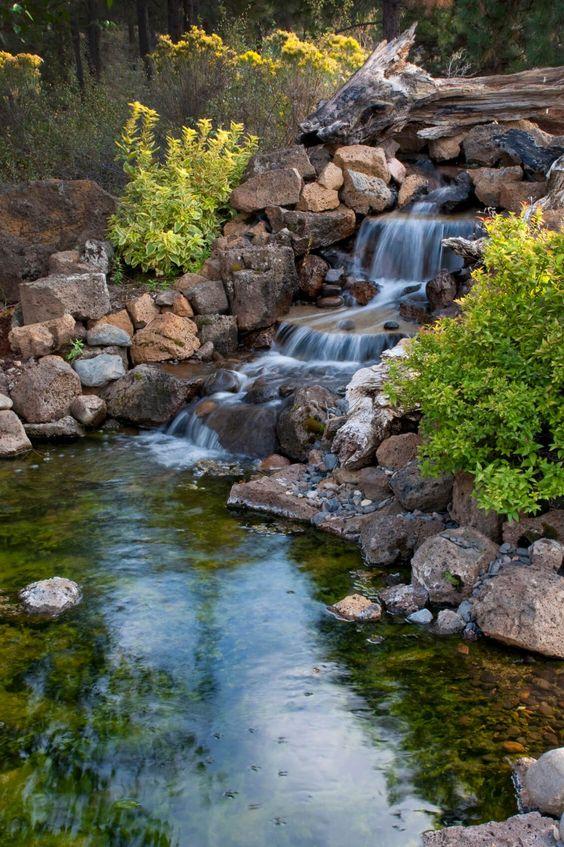 backyard waterfall ideas 20