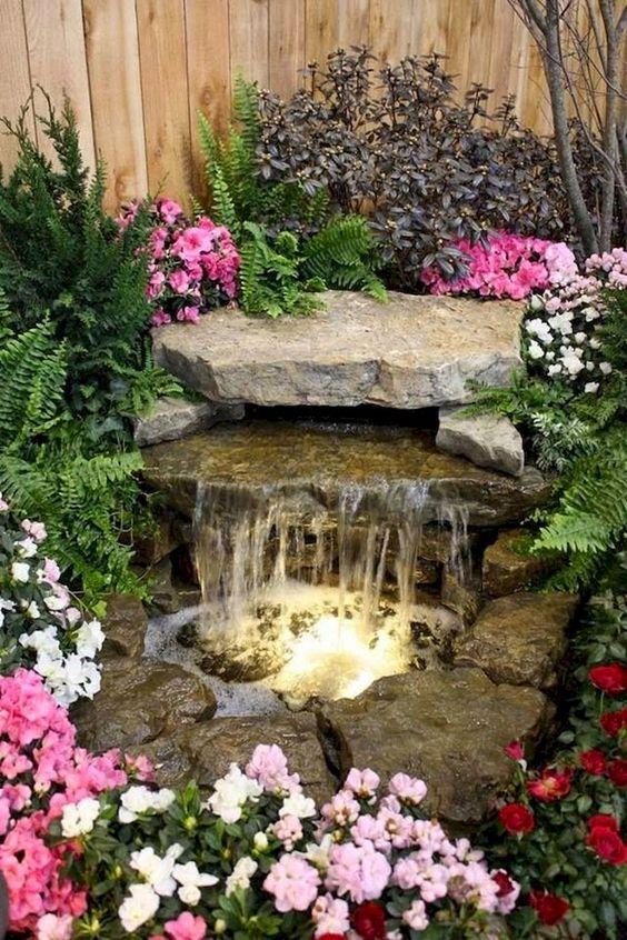 backyard waterfall ideas 3