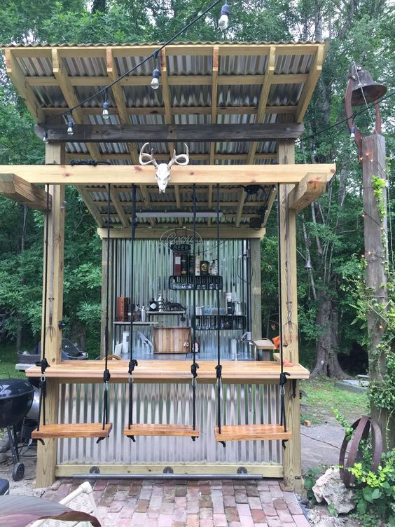Backyard Bar Ideas: DIY Unique Bar