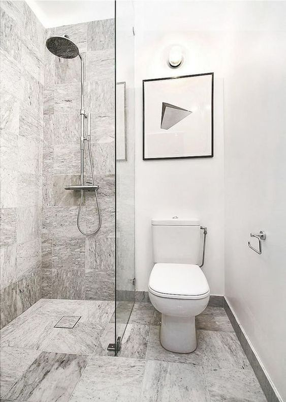 White Bathroom Ideas: Admirable Rustic Decor