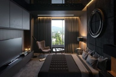 dark bedroom ideas feature