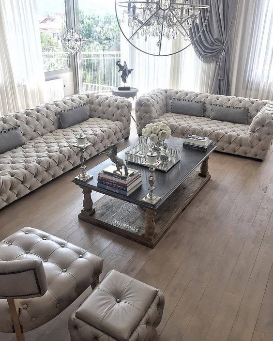 french country living room 10