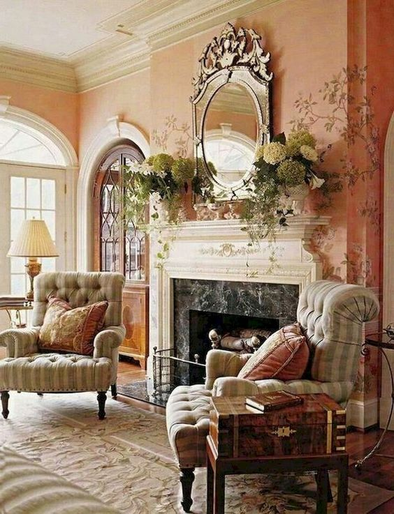 french country living room 16