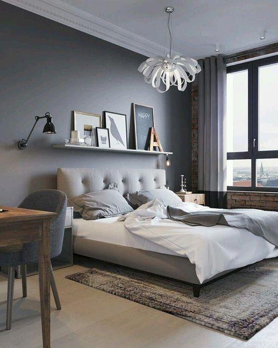 gray bedroom ideas 25