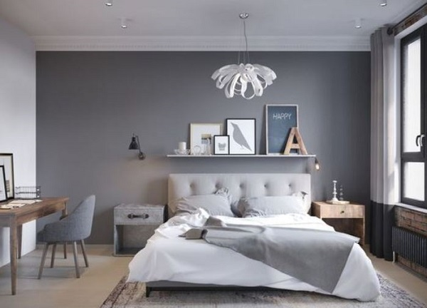 gray bedroom ideas feature