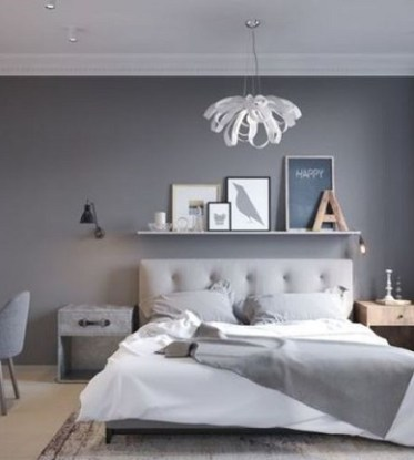 25+ Stylishly Comfortable Gray Bedroom Ideas with Chic Decor ...