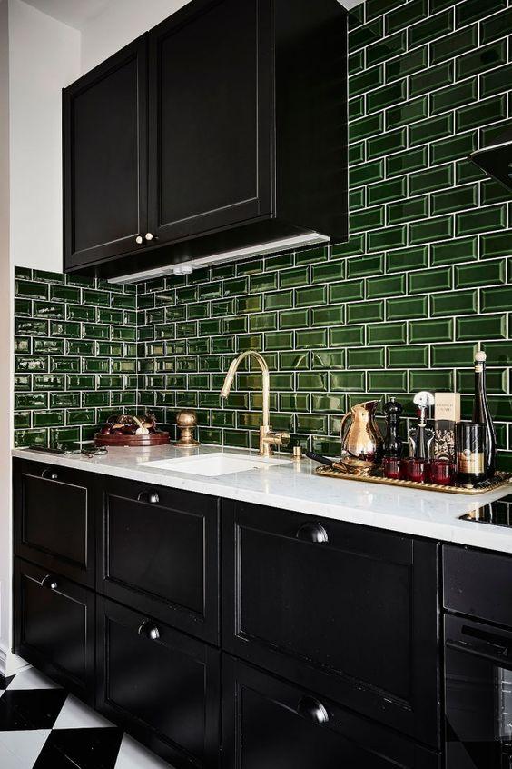 green kitchen ideas 4