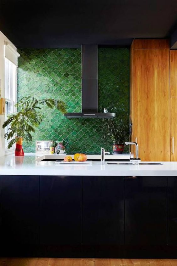 green kitchen ideas 5