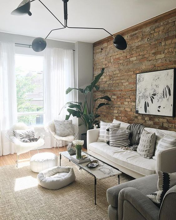rustic living room 10