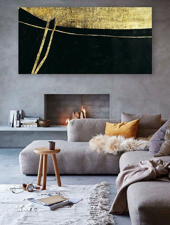 rustic living room 12