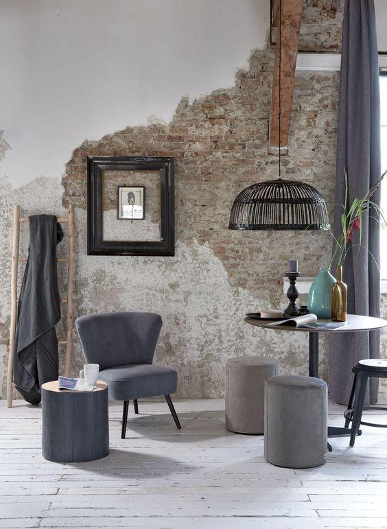 rustic living room 22