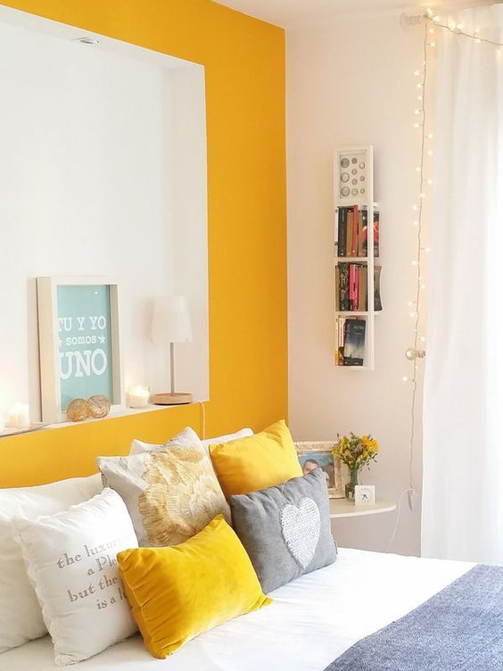 yellow bedroom ideas 20