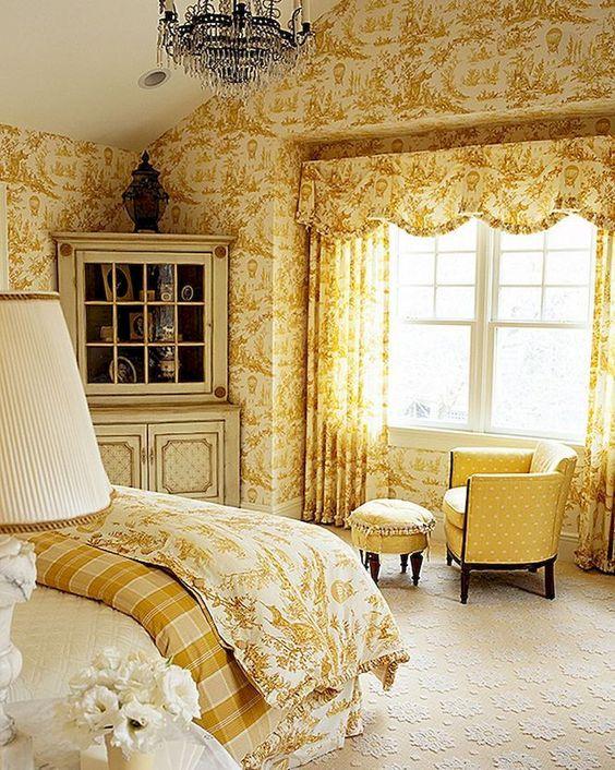yellow bedroom ideas 25