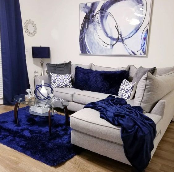 blue living room ideas 12