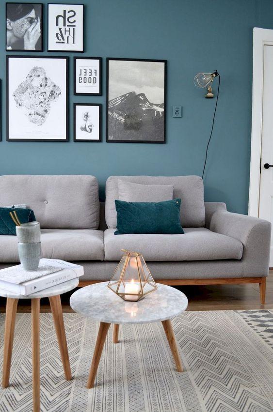 Blue Living Room Ideas: Chic Simple Decor