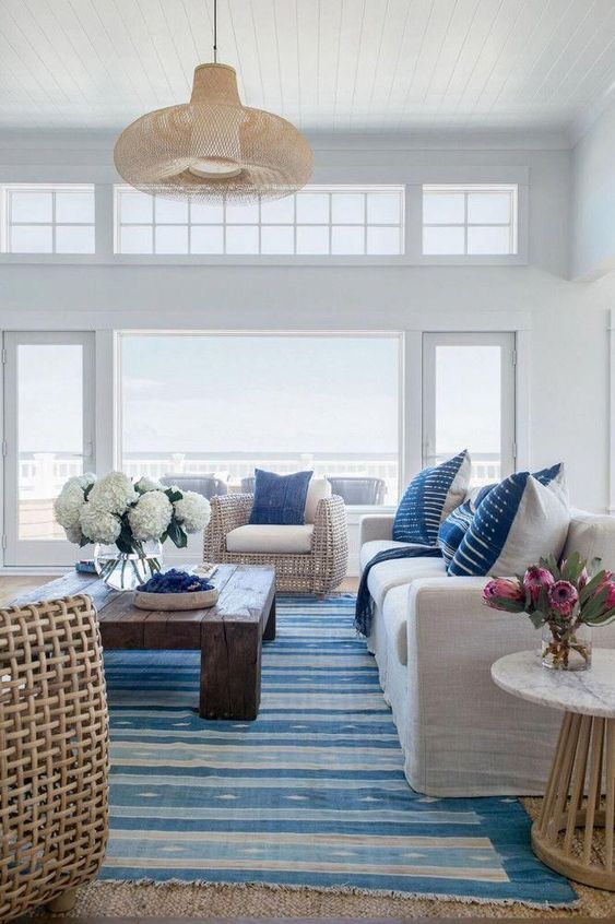 blue living room ideas 20