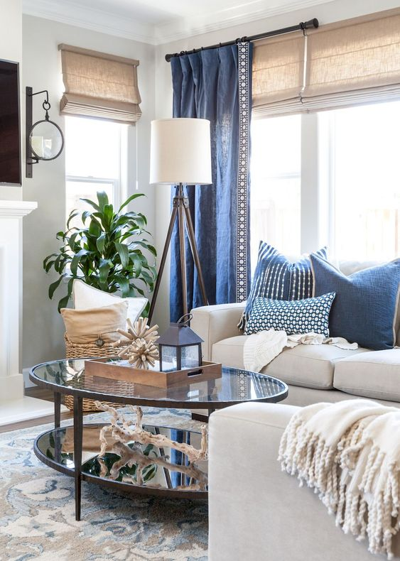 blue living room ideas 21