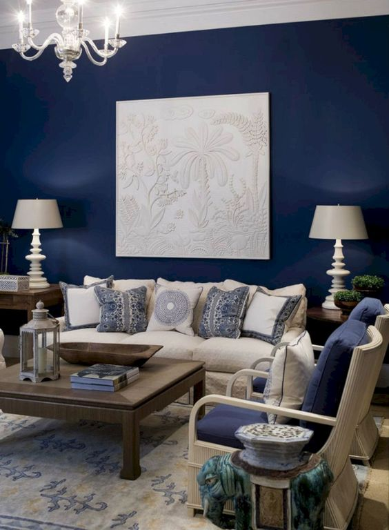 blue living room ideas 24