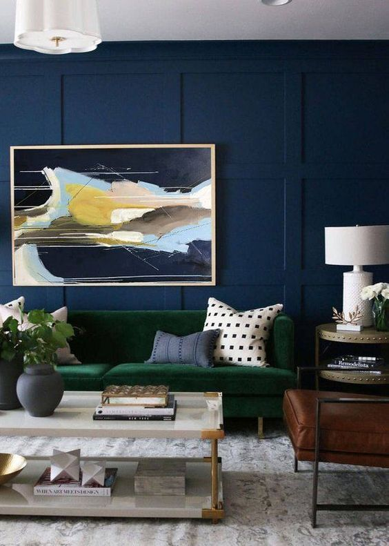 blue living room ideas 4