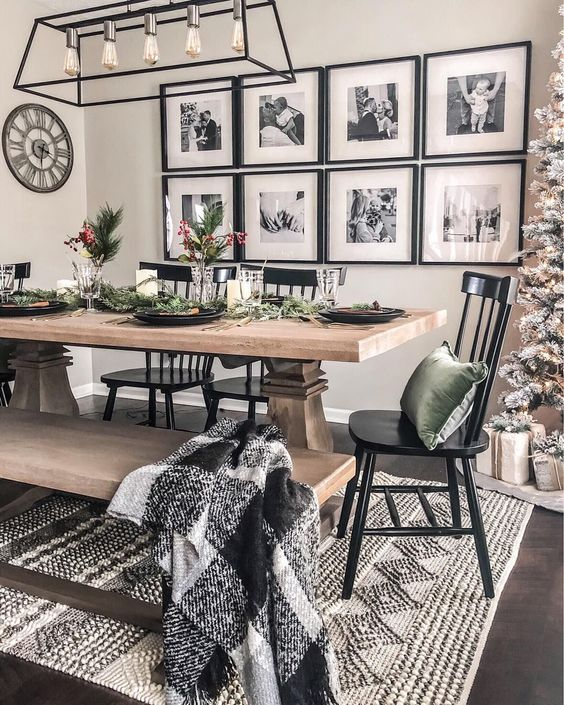 eclectic dining room 16