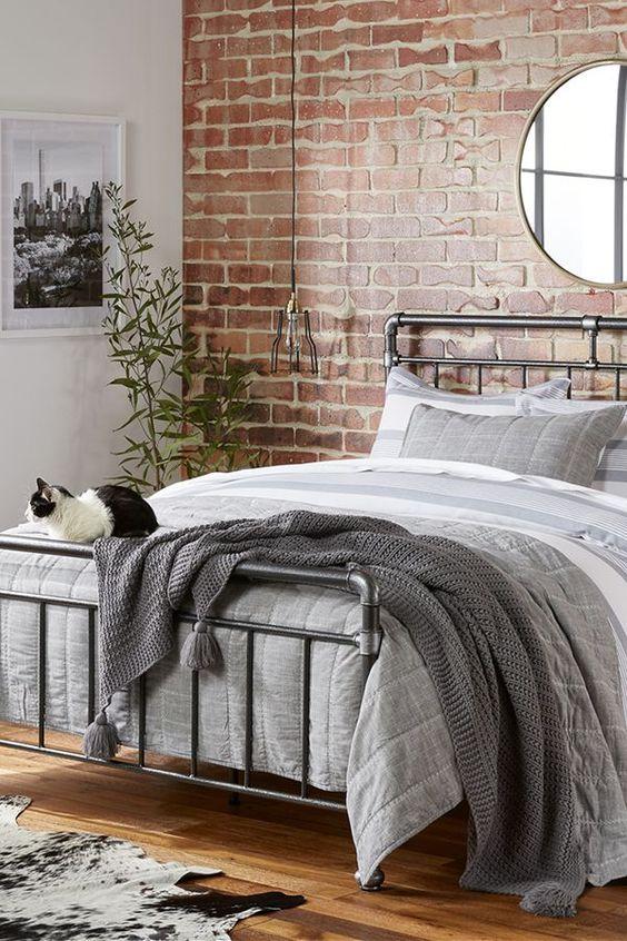 industrial bedroom ideas 19