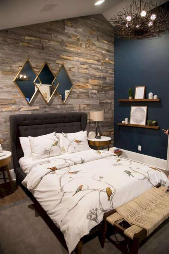Industrial Bedroom Ideas: Elegant Earthy Decor