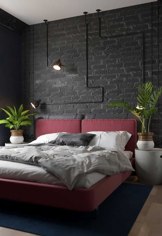 Industrial Bedroom Ideas: Elegant Catchy Decor