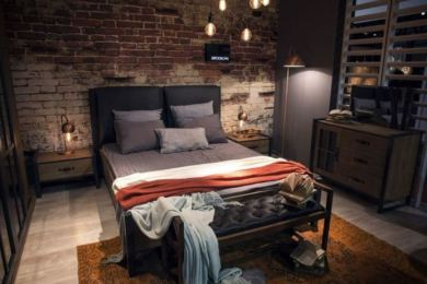 industrial bedroom ideas feature