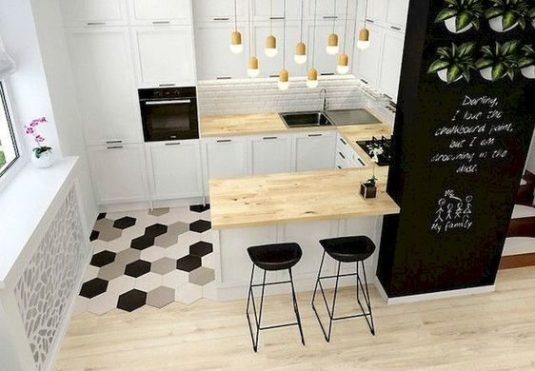 25+ Adorable Tiny Kitchen Ideas for Your Beloved Apartment ...