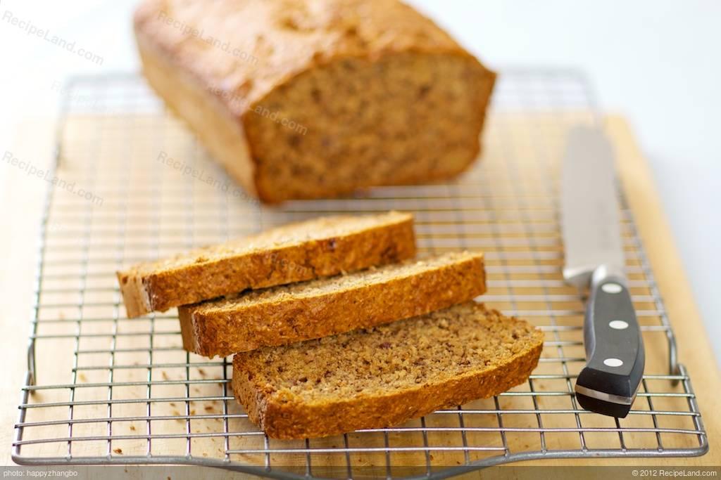 Wheat Germ Banana Bread Recipe