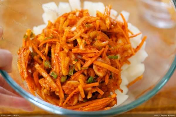 Korean Daikon Kimchi Recipe RecipeLandcom