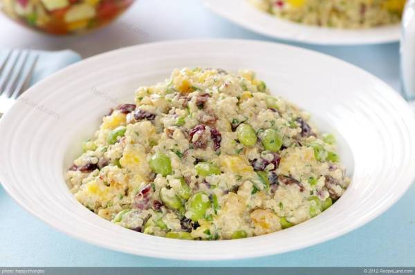 Chilled Couscous Salad with Mango Recipe