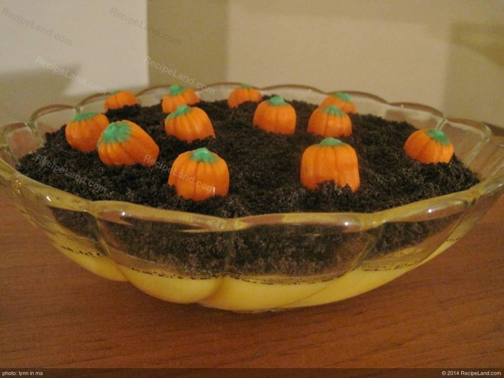 Pumpkin Patch Dirt Cake Recipe
