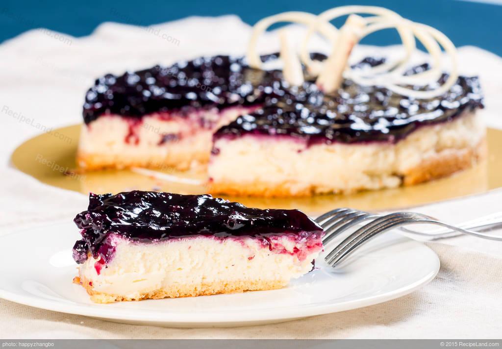 Blueberry Cheesecake Recipe   RecipeLand.com