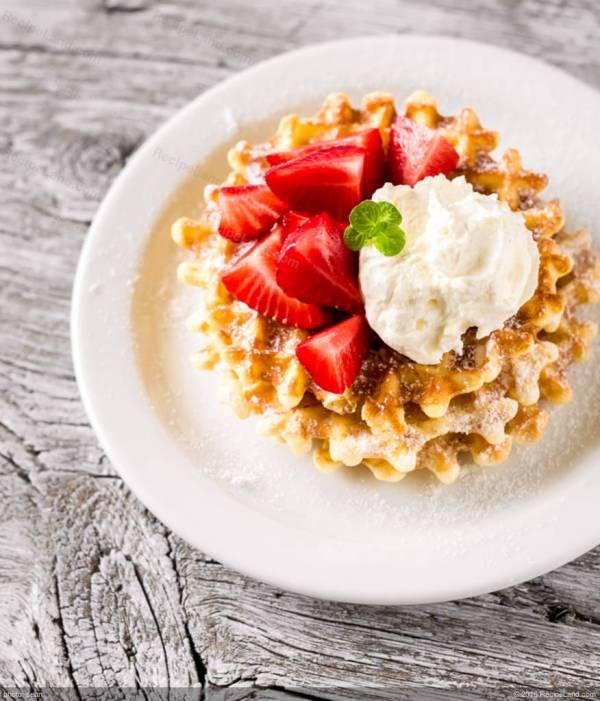 Energy Oat And Cashew Waffles Recipe
