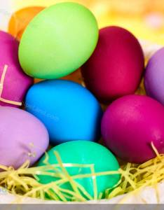 Easter egg dye with color chart also recipe rh recipeland